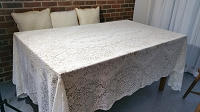 Tablecloth in Soft Lace 104 x 132